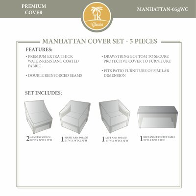 Manhattan Winter 5 Piece Cover Set
