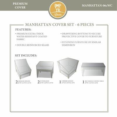 Manhattan Winter 6 Piece Cover Set