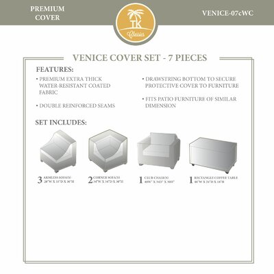 Venice Winter 7 Piece Cover Set