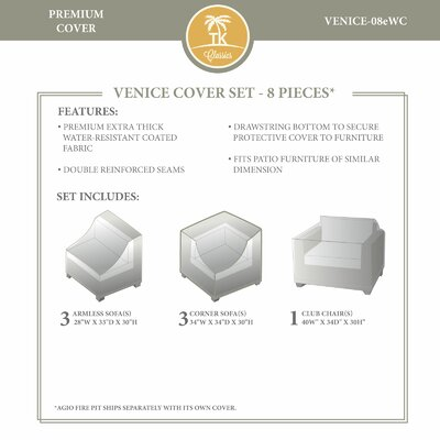 Venice Winter 8 Piece Cover Set