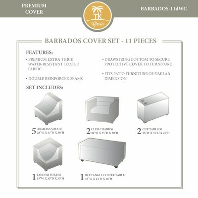 Barbados Winter 11 Piece Cover Set