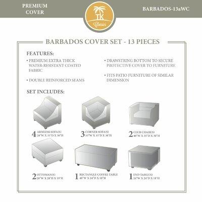 Barbados Winter 13 Piece Cover Set