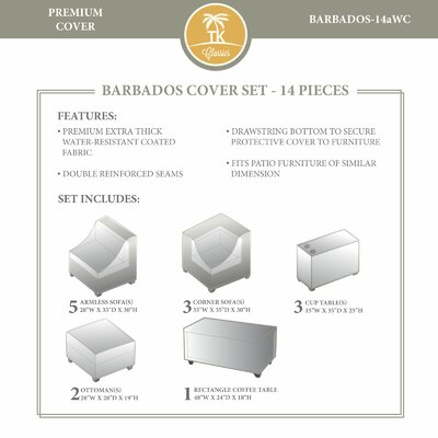 Barbados Winter 14 Piece Cover Set