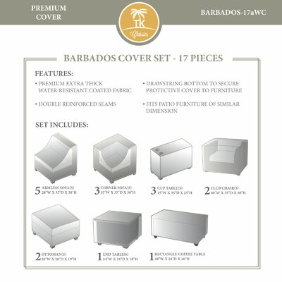 Barbados Winter 17 Piece Cover Set