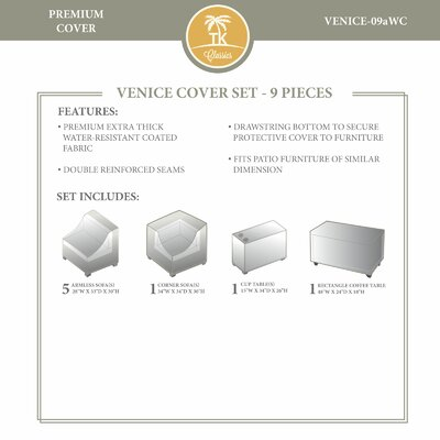 Venice Winter 9 Piece Cover Set