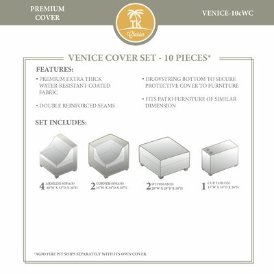 Venice Winter 10 Piece Cover Set