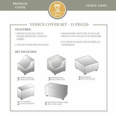Venice Winter 13 Piece Cover Set