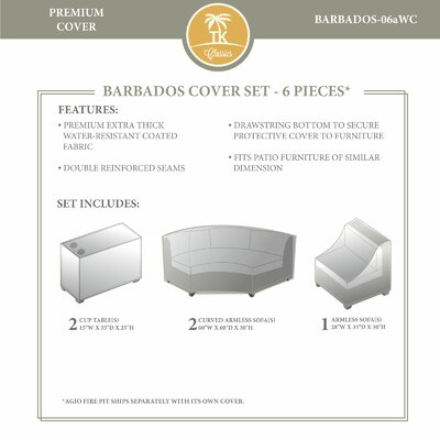 Barbados Winter 5 Piece Cover Set