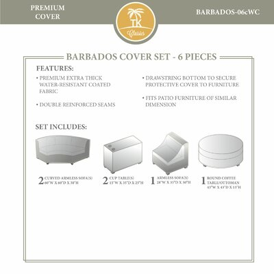 Barbados Winter 6 Piece Cover Set