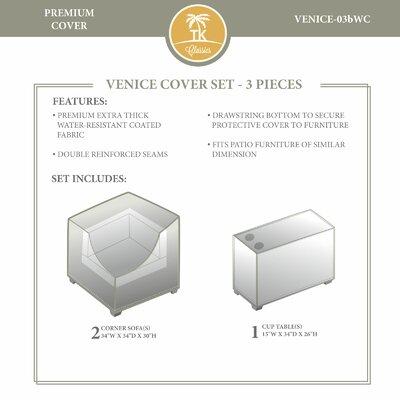 Venice Winter 3 Piece Cover Set