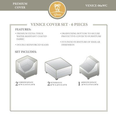 Venice Winter 5 Piece Cover Set