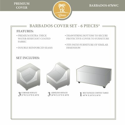 Barbados Winter 7 Piece Cover Set