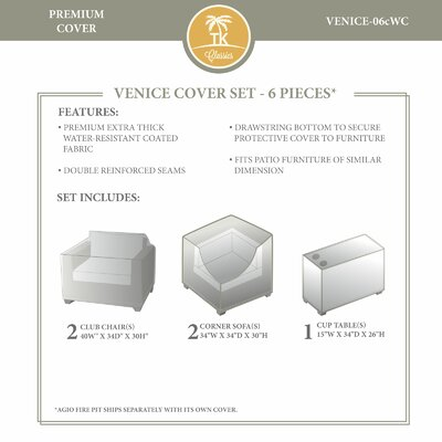 Venice Winter 6 Piece Cover Set
