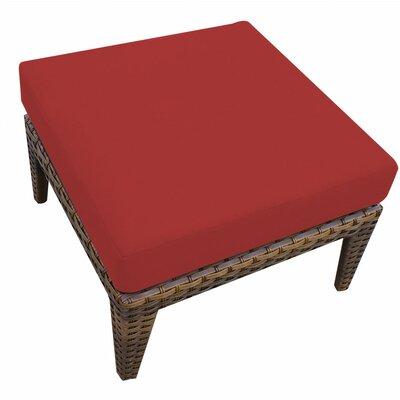 Manhattan Ottoman Cushion Fabric Terracotta picture