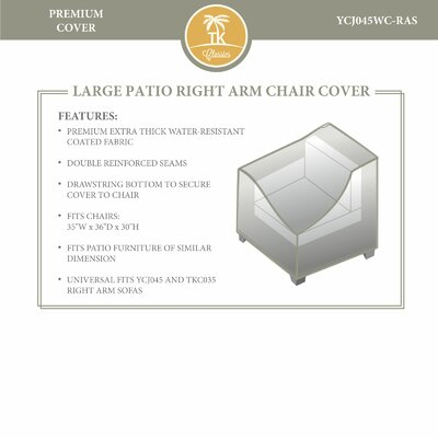 Right Arm Chair Cover