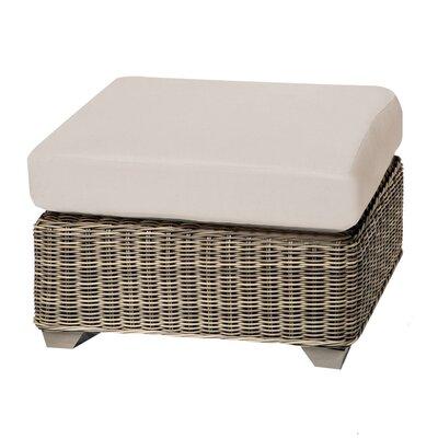 Cape Cod Ottoman with Cushion Fabric: Beige