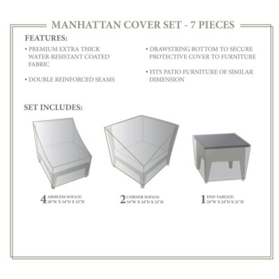 Manhattan Winter 7 Piece Cover Set