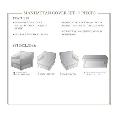 Manhattan Winter 7 Piece Cover Set