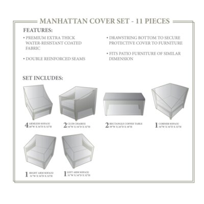 Manhattan Winter 11 Piece Cover Set