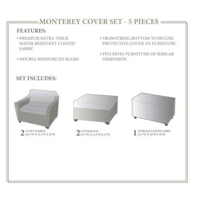 Monterey Winter 5 Piece Cover Set
