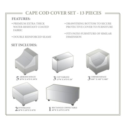 Cape Cod Winter 14 Piece Cover Set
