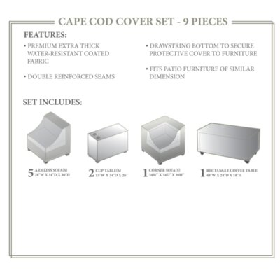 Cape Cod Winter 9 Piece Cover Set