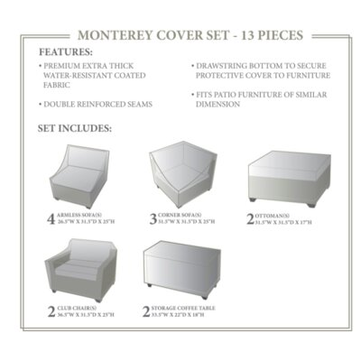 Monterey Winter 13 Piece Cover Set