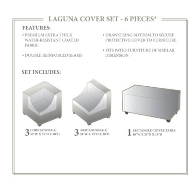 Laguna Winter 7 Piece Cover Set