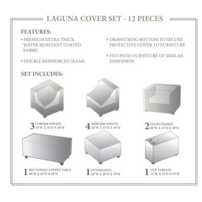 Laguna Winter 12 Piece Cover Set