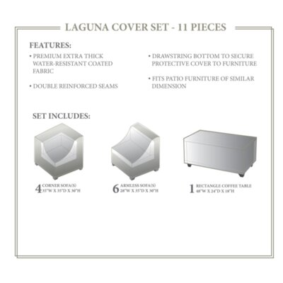 Laguna Winter 11 Piece Cover Set