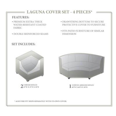 Laguna Winter 4 Piece Sofa Cover Set