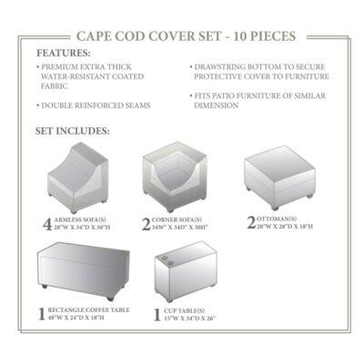 Cape Cod Winter 10 Piece Cover Set