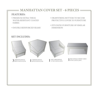 Manhattan Winter 6 Piece Cover Set