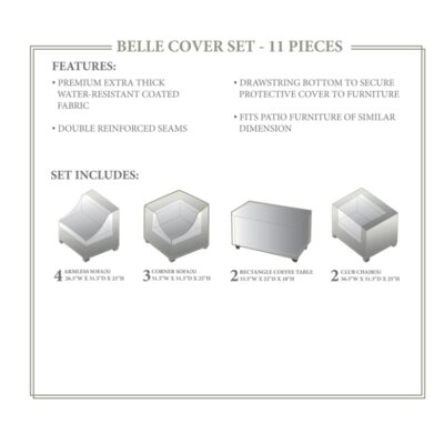 Belle Winter 11 Piece Cover Set