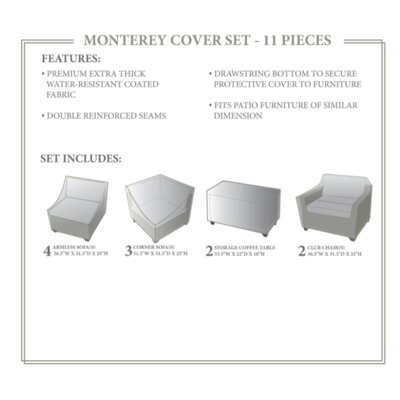 Monterey Winter 11 Piece Cover Set