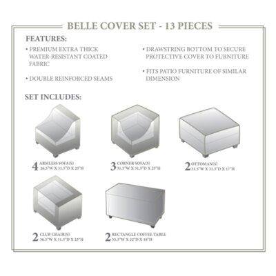 Belle Winter 13 Piece Cover Set