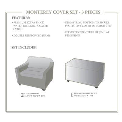 Monterey Winter 3 Piece Cover Set