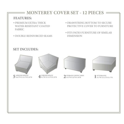 Monterey Winter 12 Piece Cover Set
