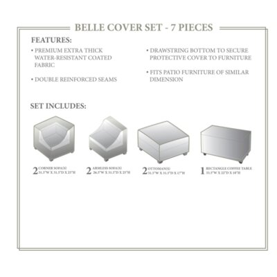 Belle Winter 7 Piece Cover Set