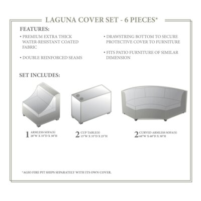 Laguna Winter 6 Piece Cover Set