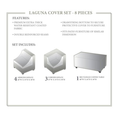 Laguna Winter 8 Piece Cover Set