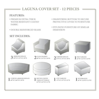 Laguna Winter 12 Piece Cover Set