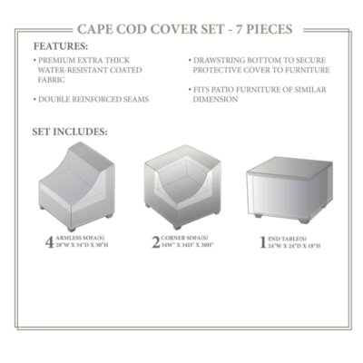Cape Cod Winter 7 Piece Cover Set