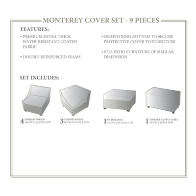 Monterey Winter 9 Piece Cover Set