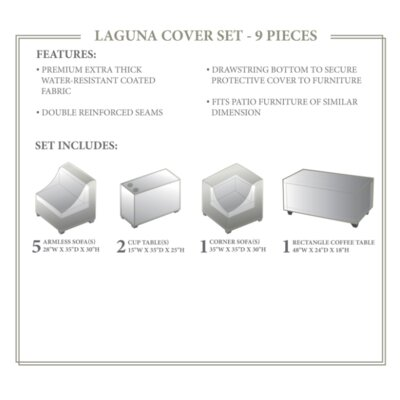 Laguna Winter 9 Piece Cover Set