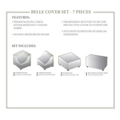 Belle Winter 7 Piece Cover Set