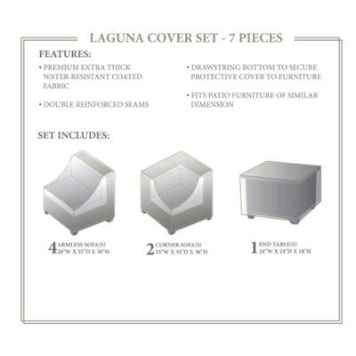 Laguna Winter 7 Piece Cover Set