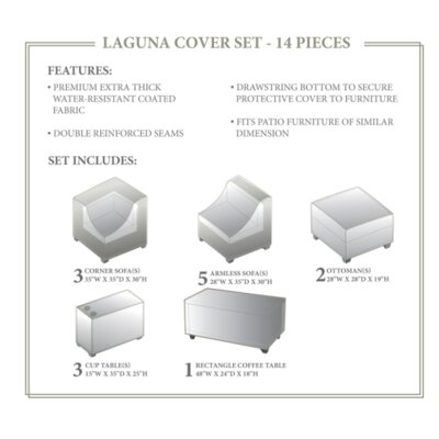 Laguna Winter 14 Piece Cover Set