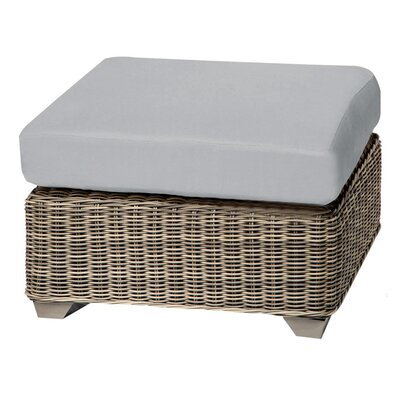 Cape Cod Ottoman with Cushion Fabric: Gray