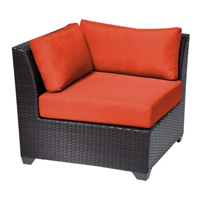 Barbados Side Chair Fabric: Tangerine